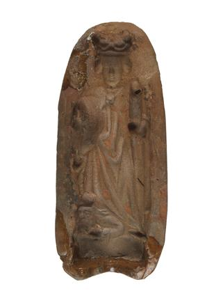 Terracota mould of St. Catherine: late 15th - early 16th century