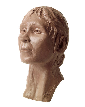 Facial reconstruction of the Shepperton woman