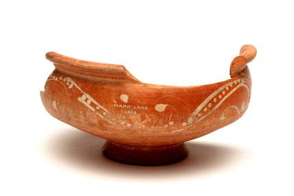 Roman Oxford red ware bowl
