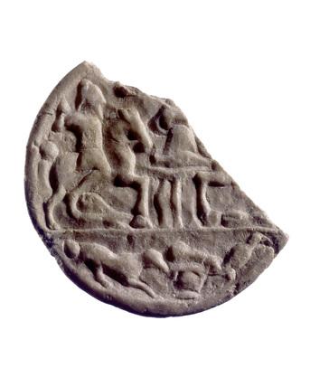 Roman marble roundel