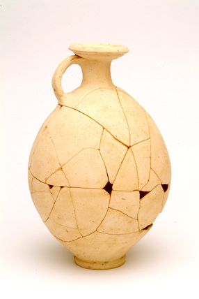 Small Roman oxidised ware flagon