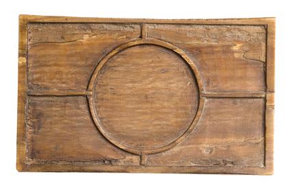 Rectangular ivory writing tablet: 14th-15th century