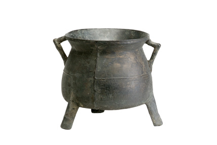 Copper alloy cauldron: late 13th- 15th century