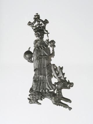 Pilgrim badge of Henry VI: 15th century