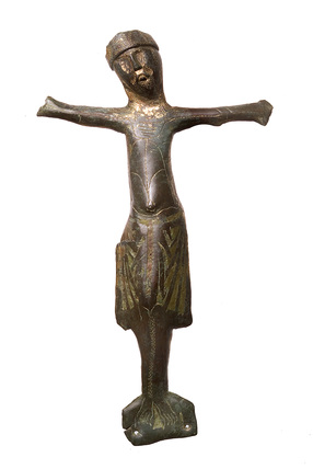 Figurine in the shape of a crucifix: 13th century