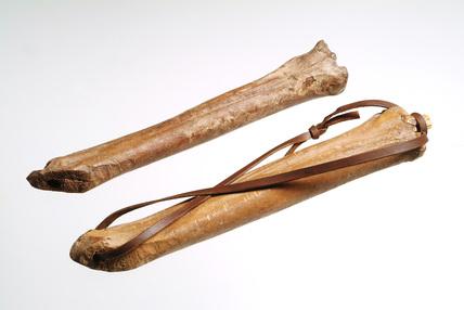Bone skates:12th century