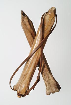 Bone skates: 12th century