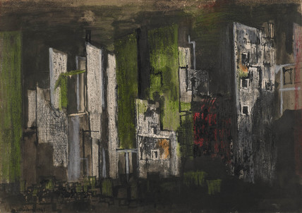 Devastation 1941, City Panorama of ruin