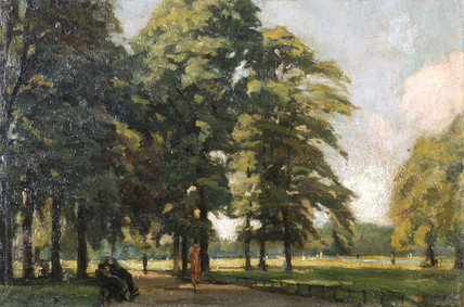 View in Kensington Gardens: 1921-1925