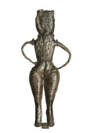 Male toy figurine: 16th century