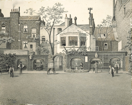 Old Six Bells Bowling Green King S Road Chelsea 1902 By