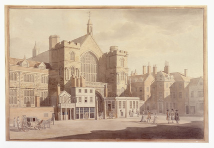 North Entrance of Westminster Hall: 1756-1765