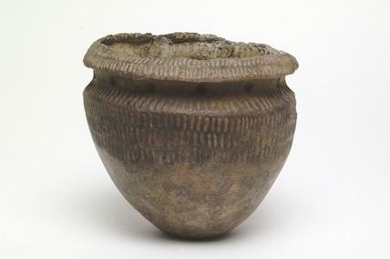 Neolithic Peterborough ware bowl