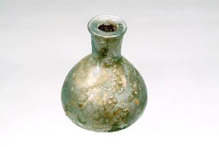 Roman glass unguentarium