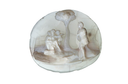 Cameo depicting Diana and her nymphs: 16th- 17th century