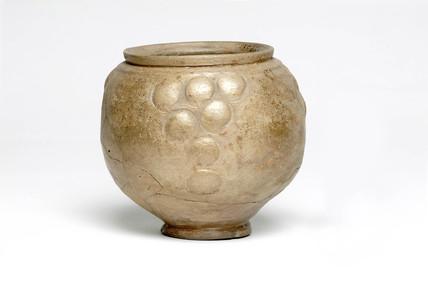 Roman ceramic ovoid beaker