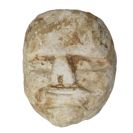 Iron age - Roman head carving