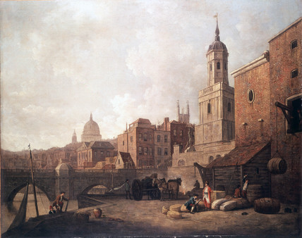 Fresh Wharf, London Bridge: c. 1762