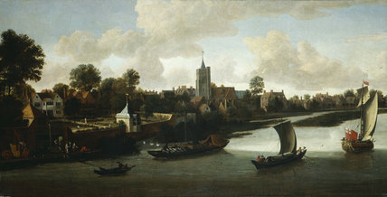 Chiswick from the River: 1676-1680