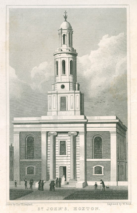 St John's, Hoxton: 1827