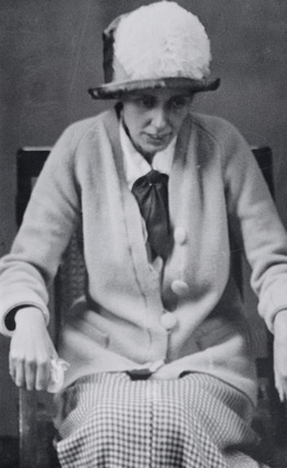 Miss Olive Wharry on her release from Holloway Prison: 1912-1914