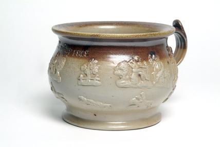 Chamber pot: 19th century