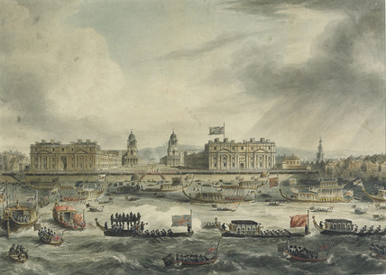 Nelson's Funeral: Leaving Greenwich Hospital: 1806