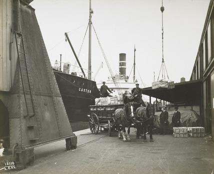 Surrey Commercial Docks: 1922