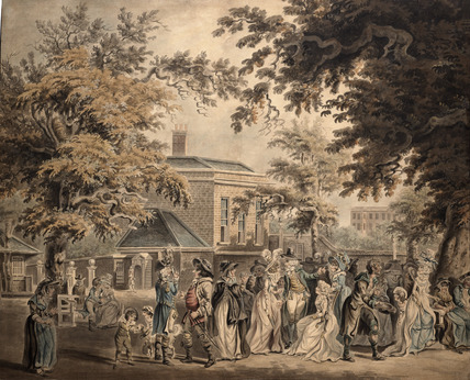 Entrance to St. James's Palace: 18th century
