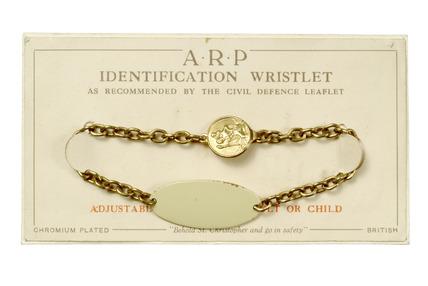 Identification wristlet: 20th century