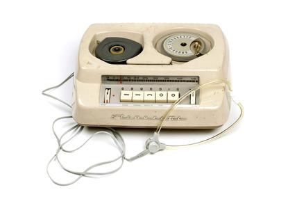 Grundig Stenorette dictaphone: 20th century