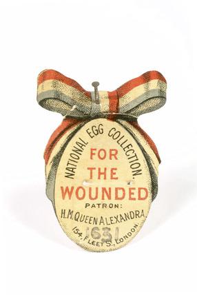 Charity lapel pin: 20th century