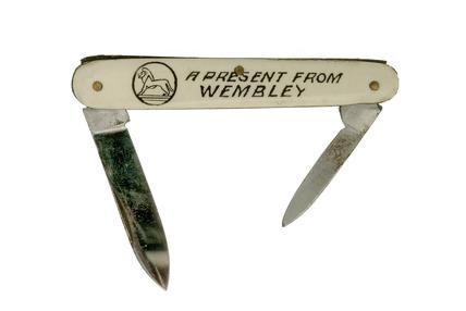Souvenir penknife: 1924