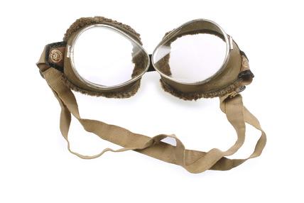 Aero-motor goggles: 20th century