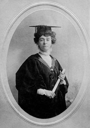 Photographic portrait of Miss E.W. Davison: 1913