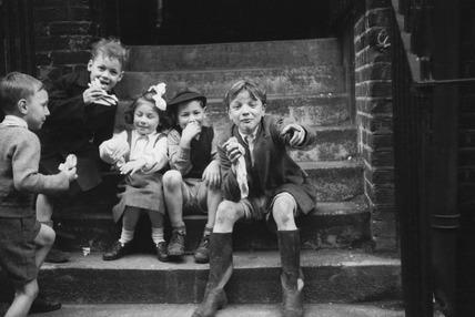 East End children: 1954