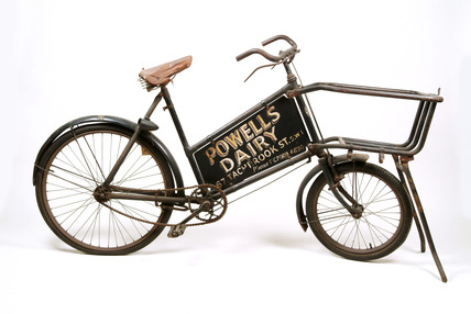 Philip's tradesman's bicycle: 20th century