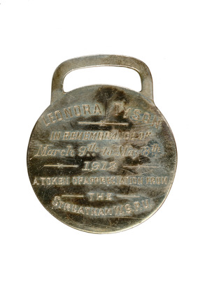 Holloway prison medallion: 1912