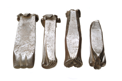 Selection of tinsel mount dies: 19th century
