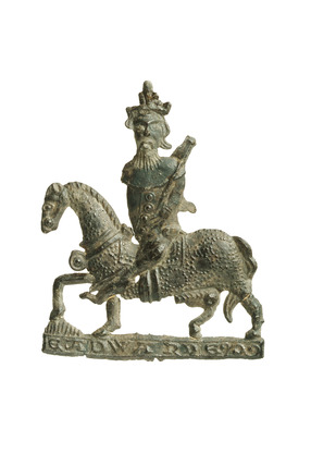 Pilgrim badge of St. Edward the Confessor: 14th century