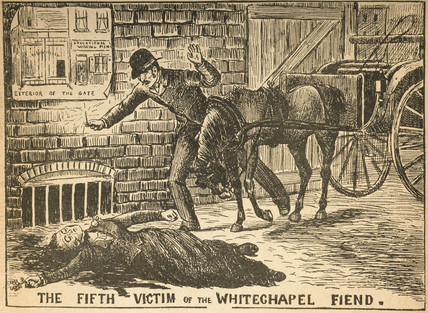 The fifth victim of the Whitchapel Fiend: 1888