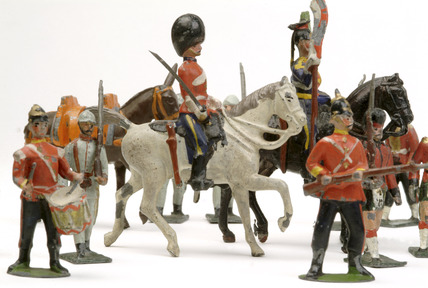 Victorian Toy Soldiers http://www.museumoflondonprints.com/image/65617/william-britain-selection-of-toy-soldiers-19th-century