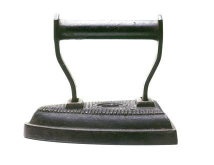 Sad or flat iron: 19th century