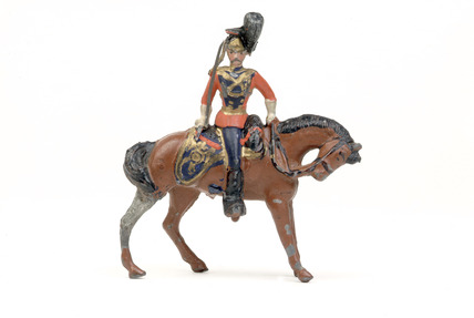 Toy figure of a lancer: 1894-1900
