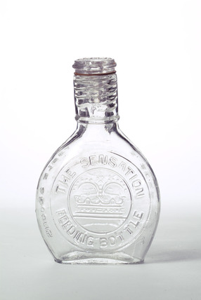 Sensation feeding bottle: 19th century