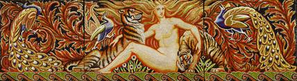 Eve, mosaic panel: 19th century