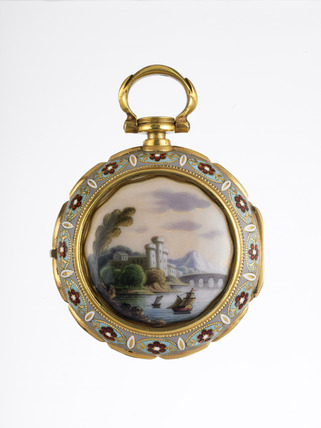 Reverse of a decorative watch: 1780
