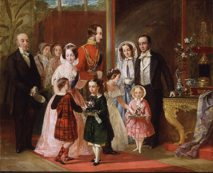 Thomas Younghusband and his Family Meet Queen Victoria and her Family at Crystal Palace: c. 1854