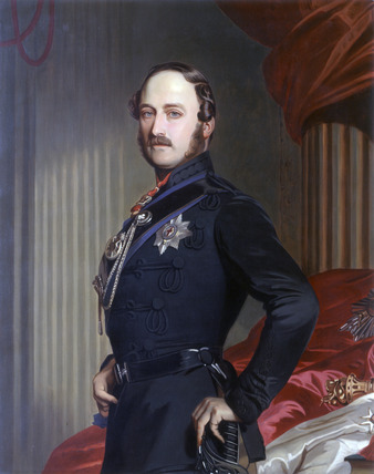 Portrait of Prince Albert: 1909