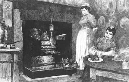 La cuisine, the kitchen: 1884
